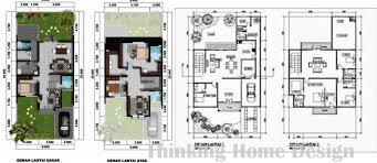 minimalist house floor plans home design