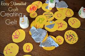 chanukah chocolate gelt easy hanukkah craft make your own gelt