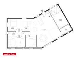 plan de maison en v plain pied 4 chambres plan de maison plain pied en v 1 plan maison moderne en v ooreka