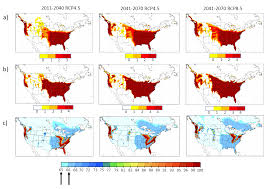 Climate Map Of North America by Climate Change Effects On Mosquito Borne Illnesses In Canada