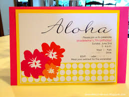 feminine free luau party invitations print features party dress
