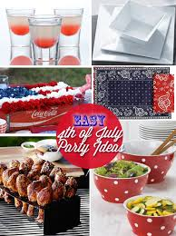 Cheap Party Centerpiece Ideas by Easy U0026 Cheap 4th Of July Party Ideas Skimbaco Lifestyle Online