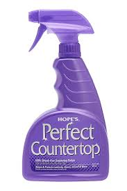 How To Get Rid Of Scratches On Corian Countertops Amazon Com Hope U0027s Perfect Countertop Cleaner And Polish 22 Ounce