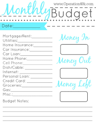 Family Budget Spreadsheet Best Photos Of Monthly Household Budget Worksheet Printable Free