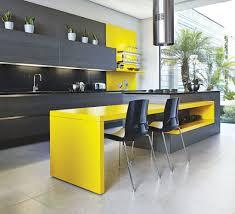 yellow kitchens yellow kitchen tile black and yellow backsplash