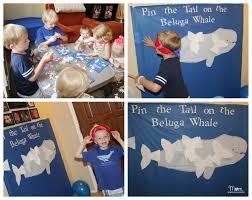 baby beluga 1st birthday party