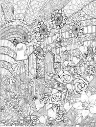 free adults printable summer coloring pages 17732