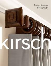 Kirsch Wood Curtain Rods Drapery Hardware U2013 Williamson Supply Co Inc