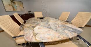 marble conference room table granite conference tables and reception desks in st louis