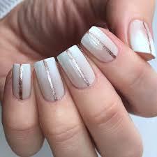 one stripe nail art design popsugar beauty uk