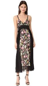 flower dress 3 1 phillip lim meadow flower dress with bra detail shopbop