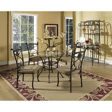 steve silver dining room sets steve silver company brookfield glass top dining table the