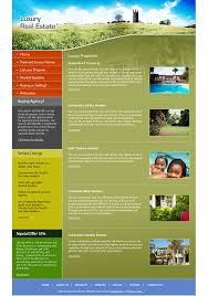 asp net web 2 0 templates for real estate company