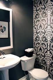 gray powder room ideas home interiror and exteriro design home