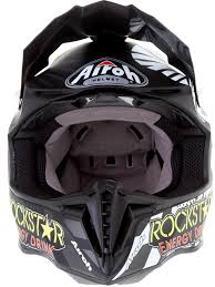 rockstar energy motocross gear airoh black rockstar twist mx helmet airoh freestylextreme