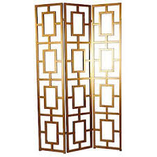 Gold Room Divider by 3 Panel Metal Room Divider Screen Gold Jc38542 Historic Mid