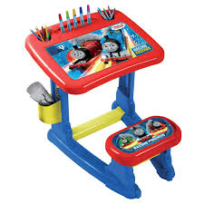 thomas u0026 friends thc001 kids activity art colouring desk table set