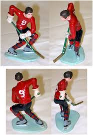hockey cake toppers cake topper wilton cake decorating hockey player 1971