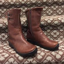 keen womens boots size 11 78 keen shoes keen leather mid calf boots from s