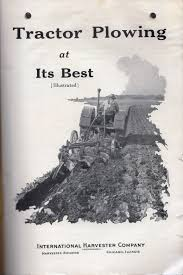 1937 mccormick deering tractor plowing at its best