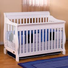 Simplicity Convertible Crib For Children Ellis Sleigh Crib