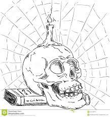 halloween skull background halloween skull stock images image 33370604