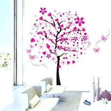 d馗oration papillon chambre fille deco papillon chambre fille objet dacoration murale arbre