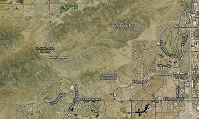 Phoenix Mountain Preserve Map by Strava Satellite Maps U2013 Points Of Interest