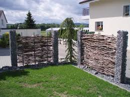 Trennwand Garten Glas Gartengestaltung Bilder Sichtschutz U2013 Spinjo Info