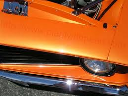 bright orange candy pearl paint with pearl