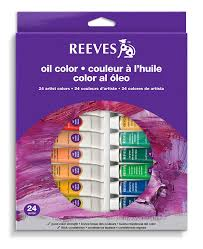 amazon com reeves 24 pack gouache color tube set 10ml