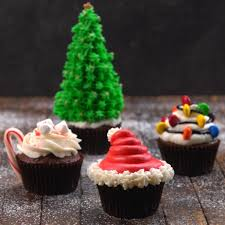 decorative christmas cupcakes recipes u0026 video tiphero