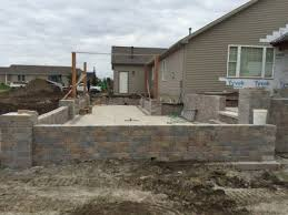 Landscaping Bloomington Il by Prairie View Landscaping Landscape Retaining Walls In Bloomington Il