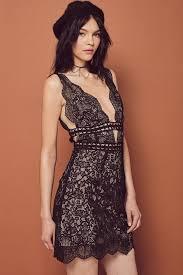 mon cheri mini dress electric and lace