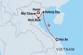 World Map Vietnam by Vietnam Active Family Holiday Vietnam Tours Intrepid Travel Au