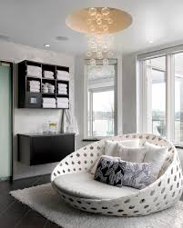 lighting modern chair with wall mount storage also floating