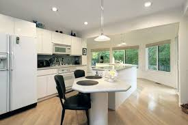 kitchen island with attached table kitchen marvelous modern kitchen island with seating