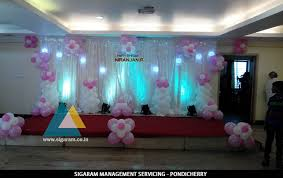 How To Decorate Birthday Cake Birthday Party Decoration At Thalapathy M K Stalin Hall