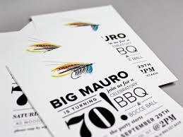 mauro u0027s fly fishing inspired 70th birthday invitations