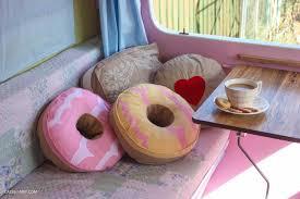 Cosy Cushions My Little Vintage Caravan My Caravan Magazine News U0026 New Soft