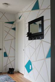 How To Build A Concrete Ping Pong Table U2014 T by Easily Create Geometric Wall Art Or Accent Wall Using Painter U0027s