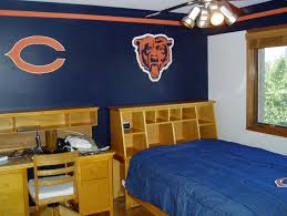 Home Interior Bears by Chicago Bears Bedroom