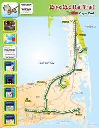cape cod rail trail map