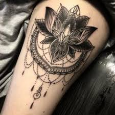 27 best large lotus flower tattoos thigh images on pinterest
