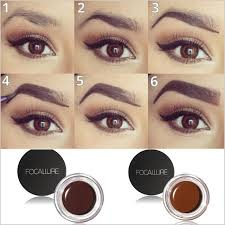 henna makeup online shop 5 colors professional eye brow high brow pigment tint
