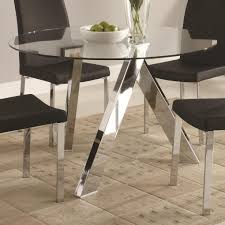 glass top dining room table with pedestal base u2022 dining room
