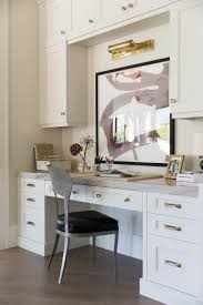 Custom Built Desks Home Office Best 25 Built In Desk Ideas On Pinterest Small Home Office Desk