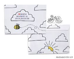 Where Does Stamp Go On Envelope Best 25 Decorated Envelopes Ideas On Pinterest Envelope Art