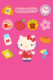 wallpapers pink kitty 62