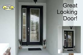 Glass Inserts For Exterior Doors Entry Doors With Glass Custom Wood Front Entry Doors Classic